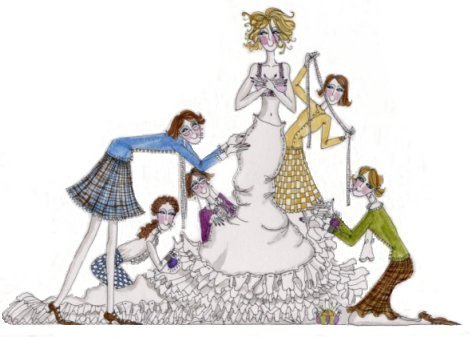 Bride clipart alteration BridalAlterationsLogo Eve's BridalAlterationsLogo Alterations