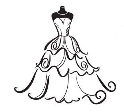 Bride clipart art Bride art images clipart clip