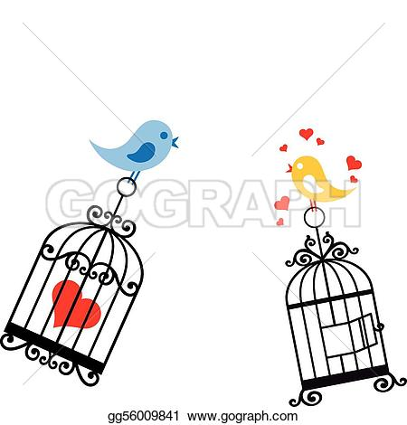 Birdcage clipart love Art GoGraph Waterfowl · Clip