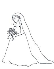 Bride clipart black and white Clip Art Clipart Download Black