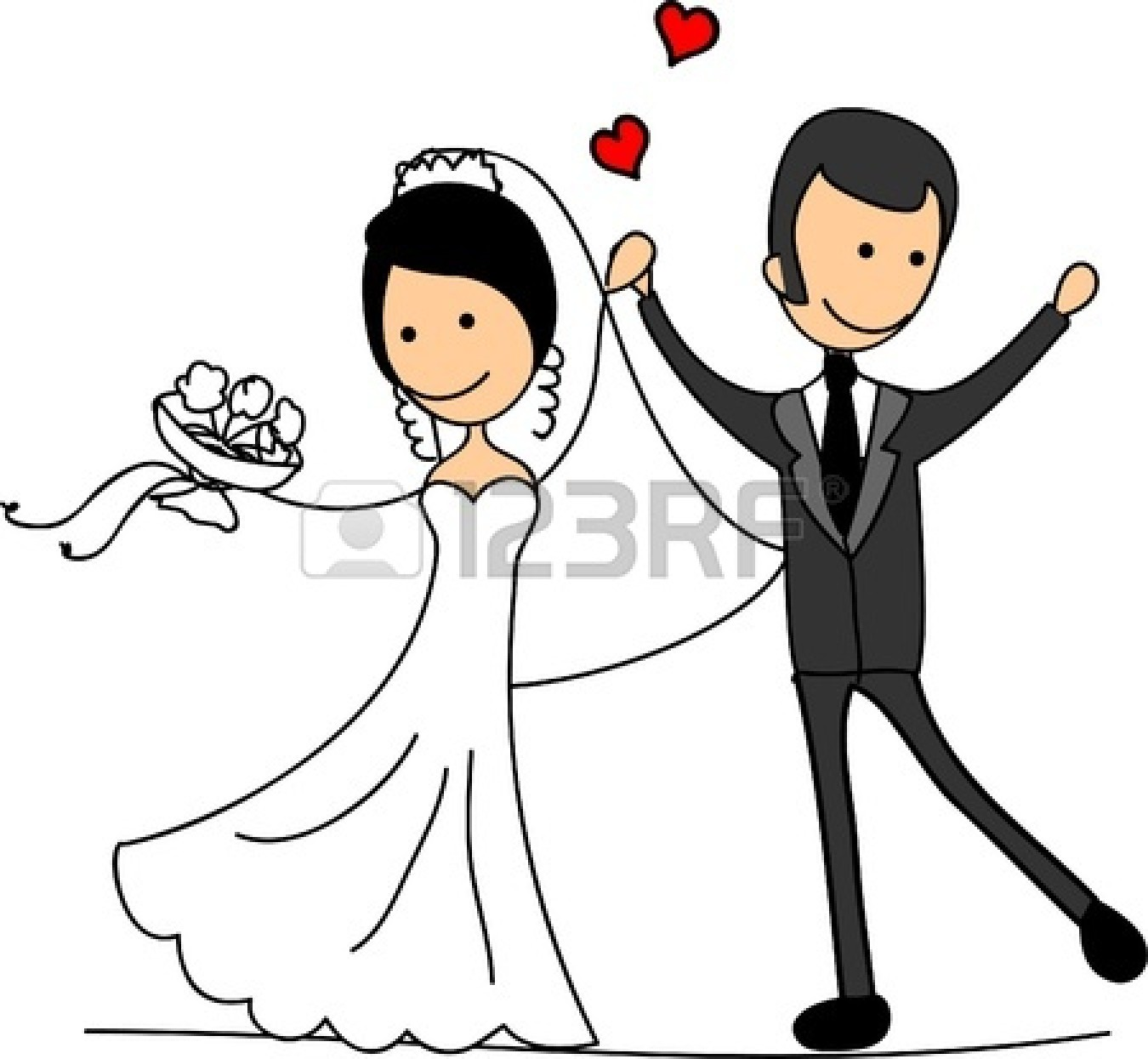 Country clipart bride and groom Groom And bride%20and%20groom%20clipart%20black%20and%20white  Black