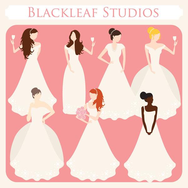 Bride clipart bride bridesmaid Panda Clipart Clipart Free Clipart
