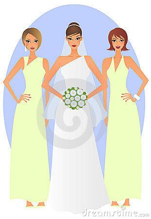 Bride clipart bride bridesmaid Free Panda Images Clipart Clipart