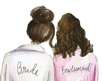 Bride clipart bride bridesmaid Clipart party Bridesmaids Collection for