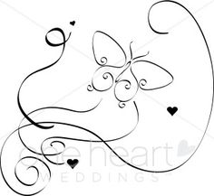 Bride clipart butterfly Tiny a image in free