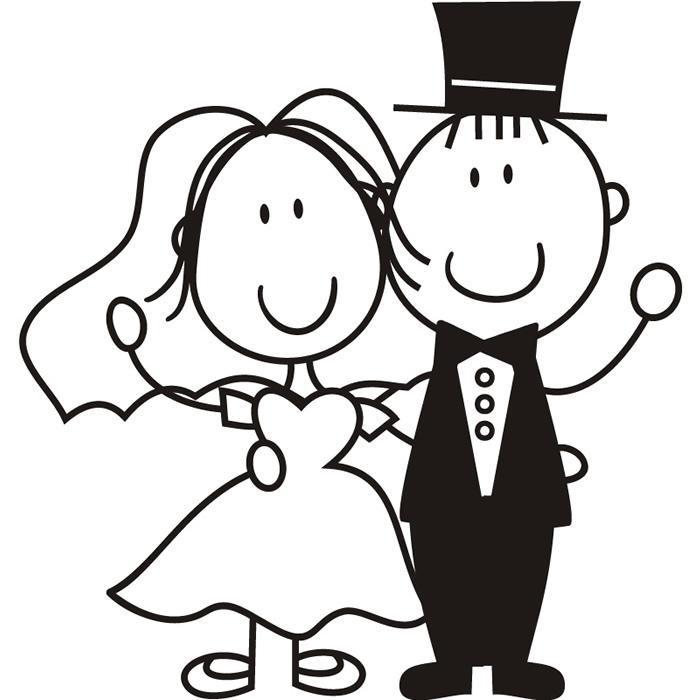 Bride clipart cartoon #11
