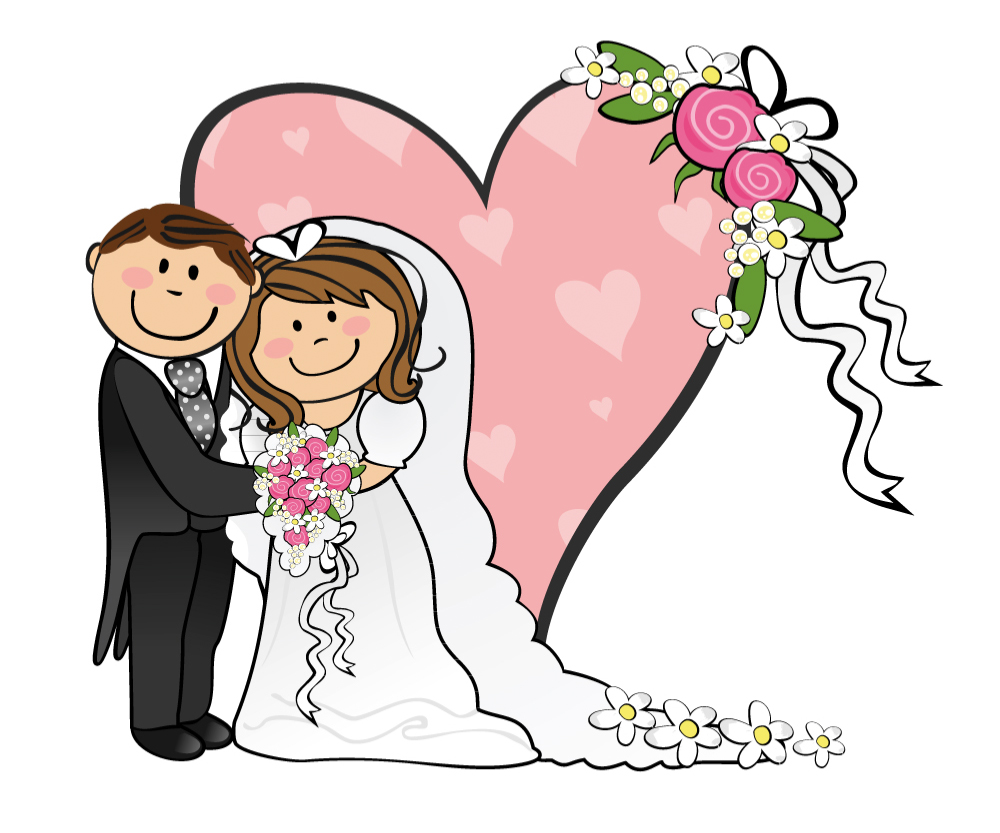Elegance  clipart cute dress Funny  And Groom Groom