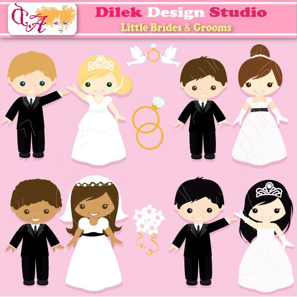 Bride clipart cute Best Resimler 56 images on