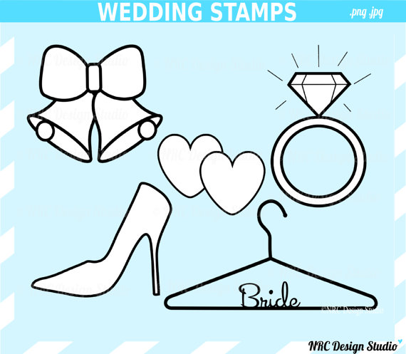 Bride clipart engagement party Wedding Classic Art Ring Party