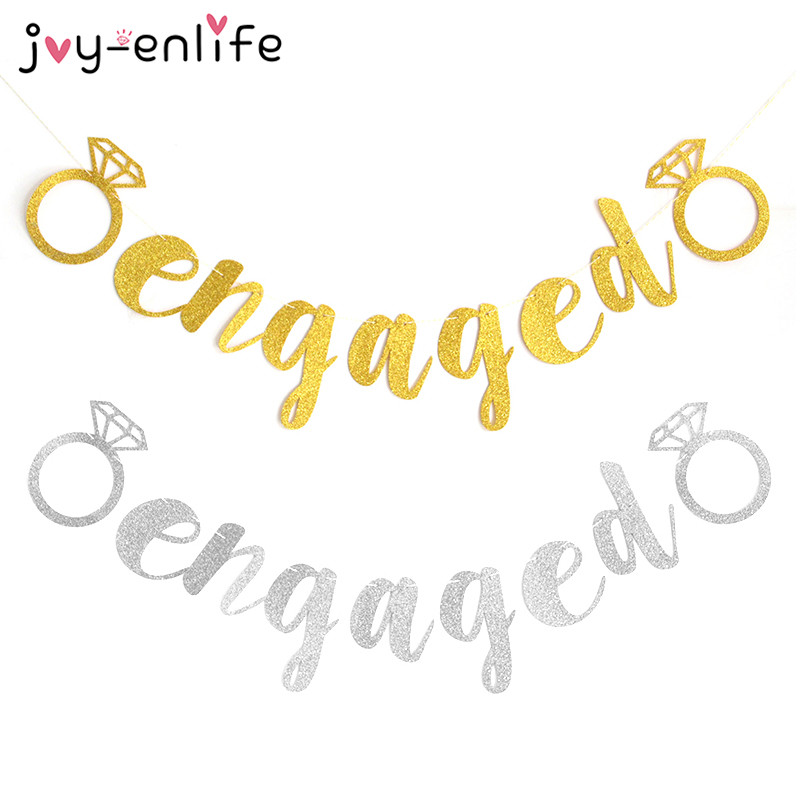 Bride clipart engagement party Photo Banner Garland Prices 1set