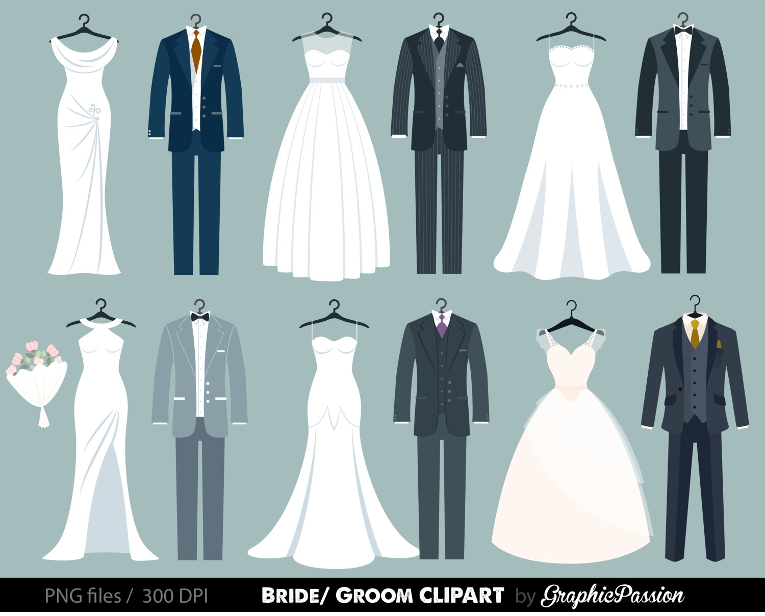 Bride clipart formal wear Clipart Like this Wedding Clipart