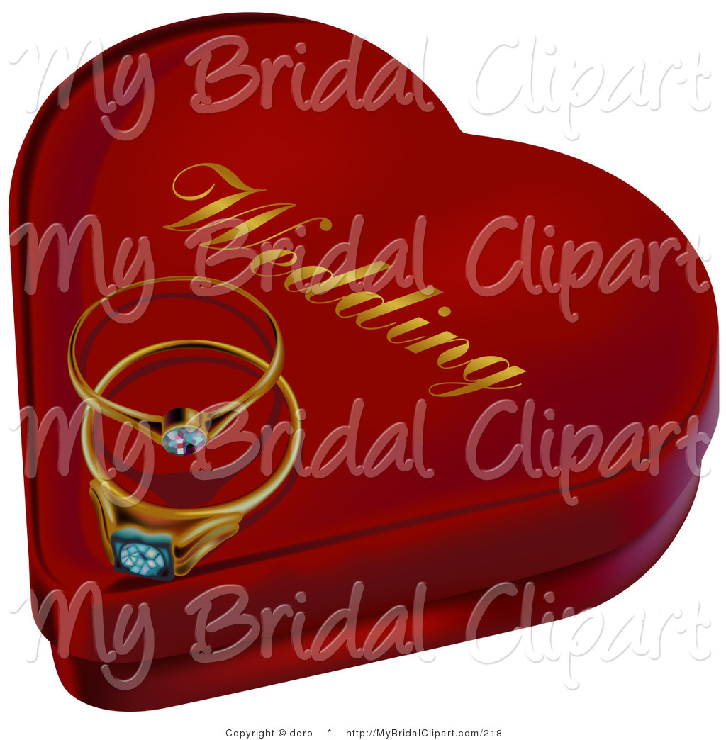 Bride clipart gold heart 5 Wedding Stock Ring Resting