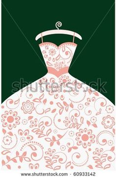 Bride clipart gown Separate you of (elements Wedding