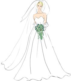 Bride clipart graphic Art And Free Clipart Bride