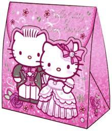 Bride clipart hello kitty Origami Hello Langeveld papercraft favor