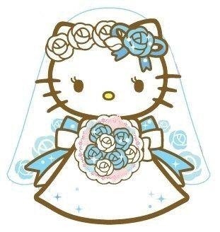 Bride clipart hello kitty Pawtastic ideas kitty Novia Pinterest