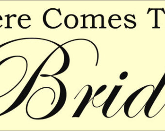 Bride clipart here comes the bride #15