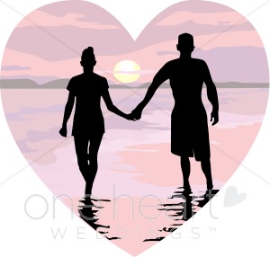 Romantic clipart honeymoon #1