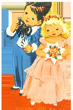 Bride clipart kid Clipart Clipart Invitations children wedding