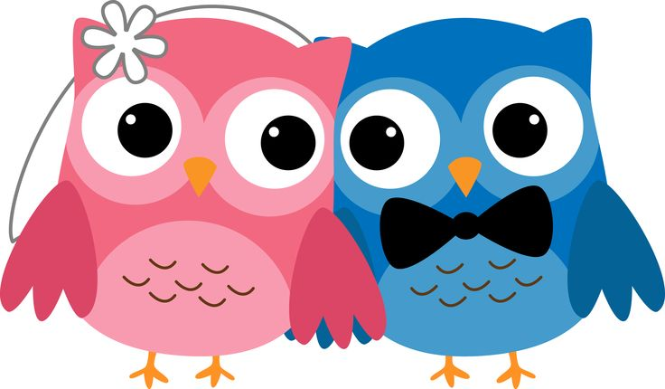 Wedding clipart owls Owl Owl and Clipart art