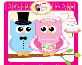 Wedding clipart owls Get Sea designer Lovely Buy