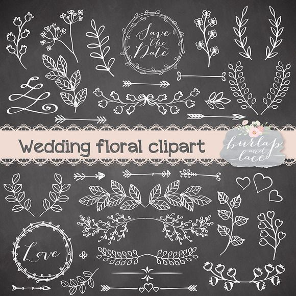 Rustic clipart line Wedding by on Check clipart