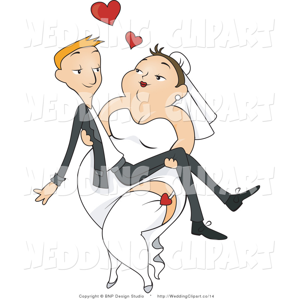 Bride clipart skinny bride Her Free Royalty Bride Carrying
