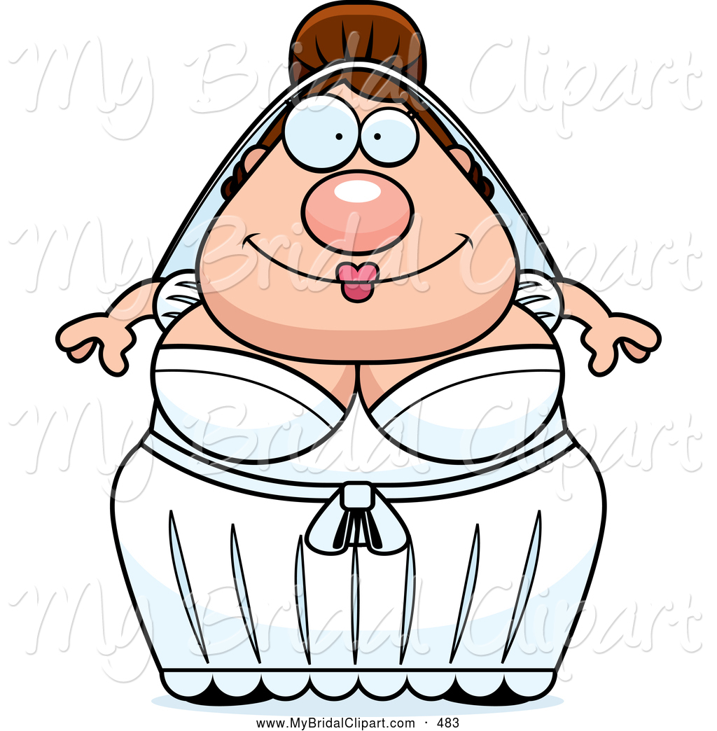 Bride clipart skinny bride Fat Designs Royalty Free