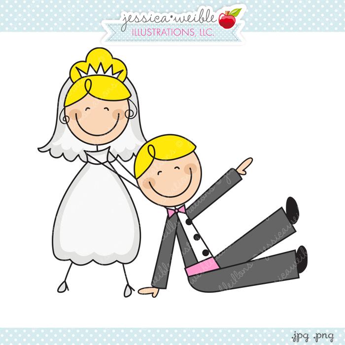 Bride clipart stick figure More Stick Bride JW Groom: