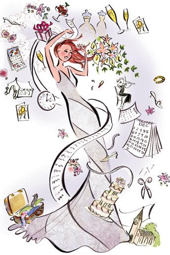 Bride clipart stressed #9