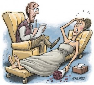 Bride clipart stressed #1