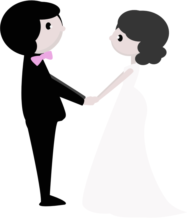 Bride clipart transparent #3