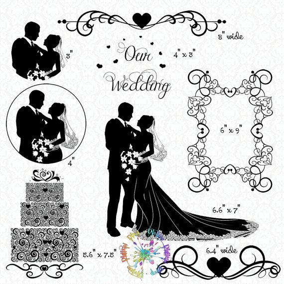 Groom clipart transparent Elegant Wedding Divider Groom Cake