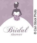 Bride clipart wedding artwork Border Art Clip Bridal Collection