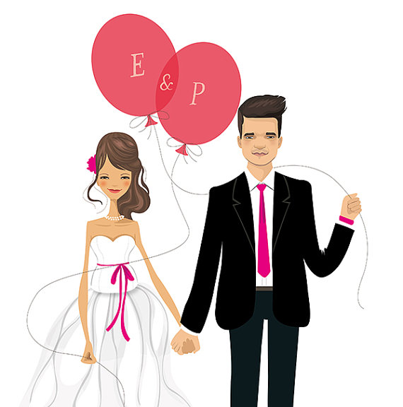 Bride clipart wedding celebration Shower Groom Clipart Reception Free