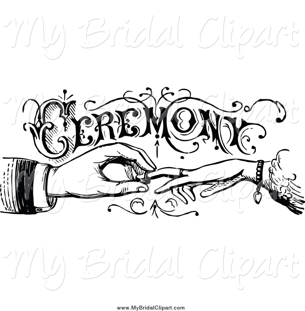 Bride clipart wedding ceremony #13