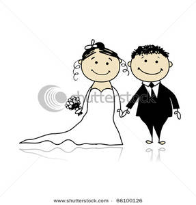 Bride clipart wedding ceremony #8