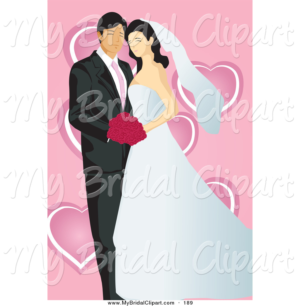 Couple clipart pink Free Hearts Page Wedding Royalty