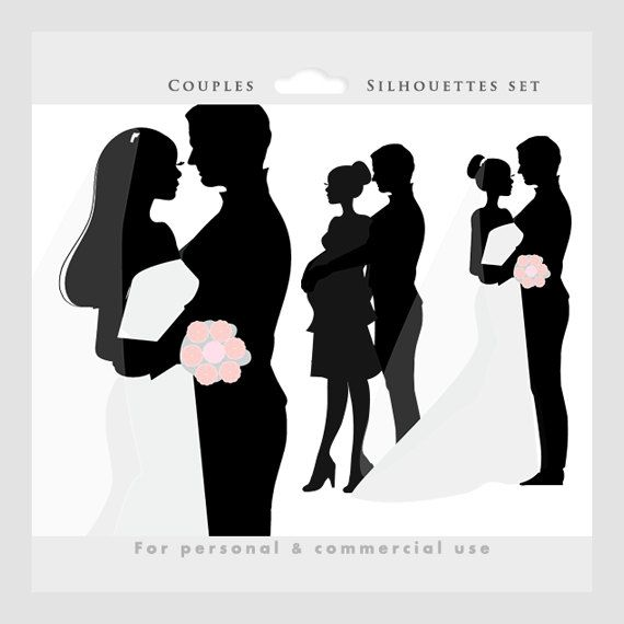 Bride clipart wedding couple Clipart art clip and pregnant