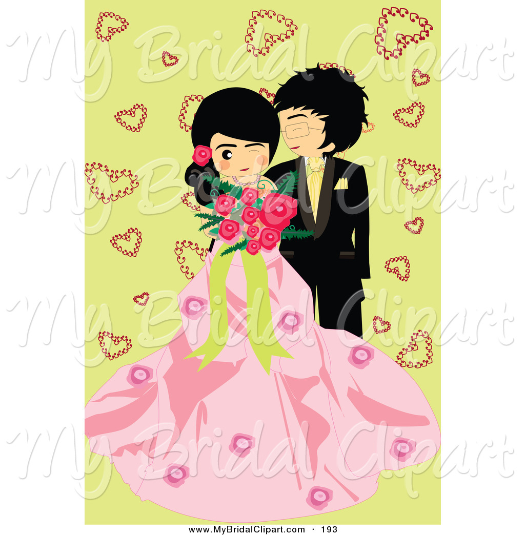 Bride clipart wedding couple A Clipart Bridal Cute with