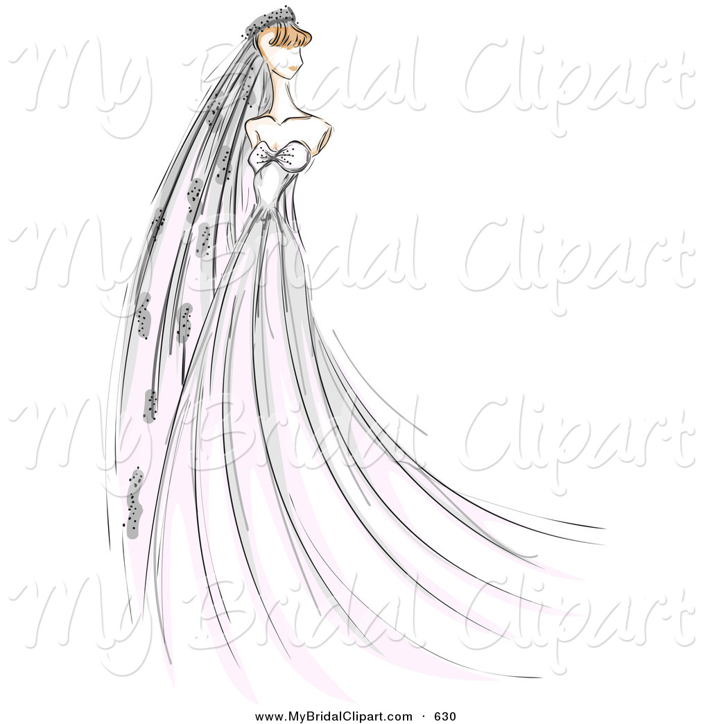 Bride clipart wedding day Bride on in Sketched Wedding