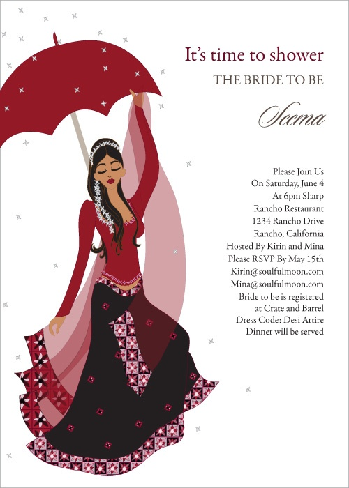 Wedding Dress clipart indian dress By images on Invitations Shower