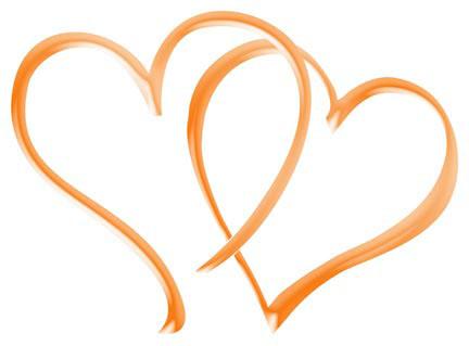 Hearts clipart double heart Art  Template Free Art