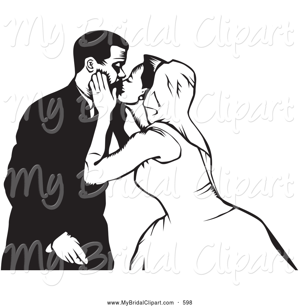 Black clipart kiss White 6 Couple Designs Free