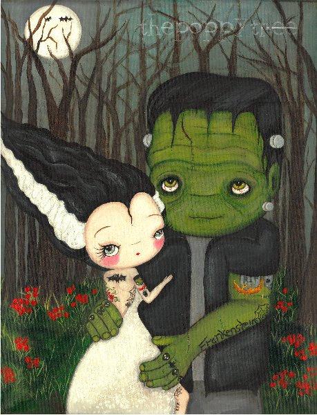 Bride Of Frankenstein  clipart cute #12