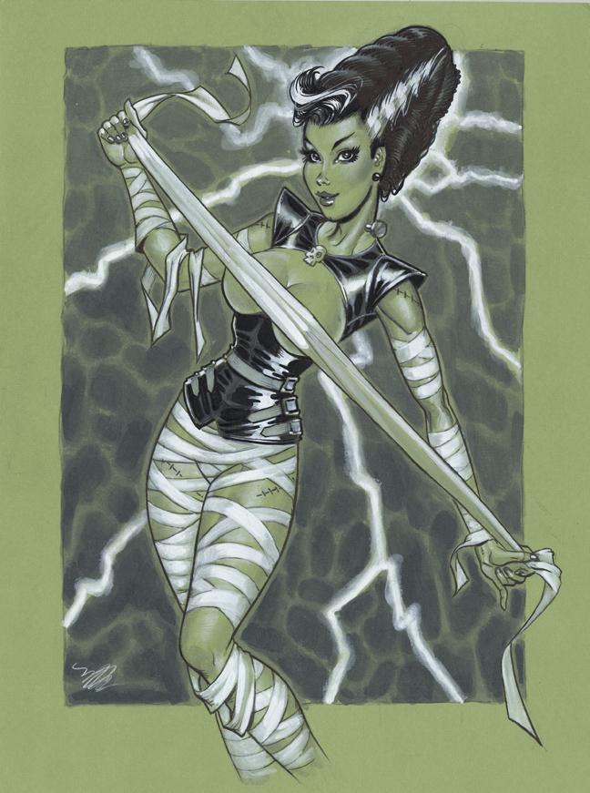 Bride Of Frankenstein  clipart cute #11