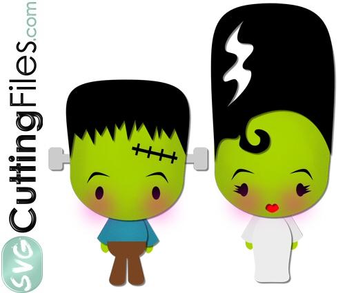 Bride Of Frankenstein  clipart cute #14