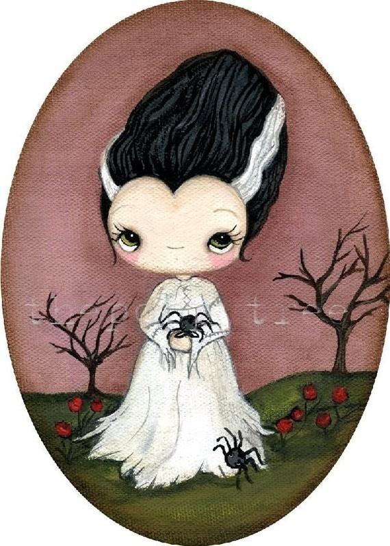 Bride Of Frankenstein  clipart cute #7