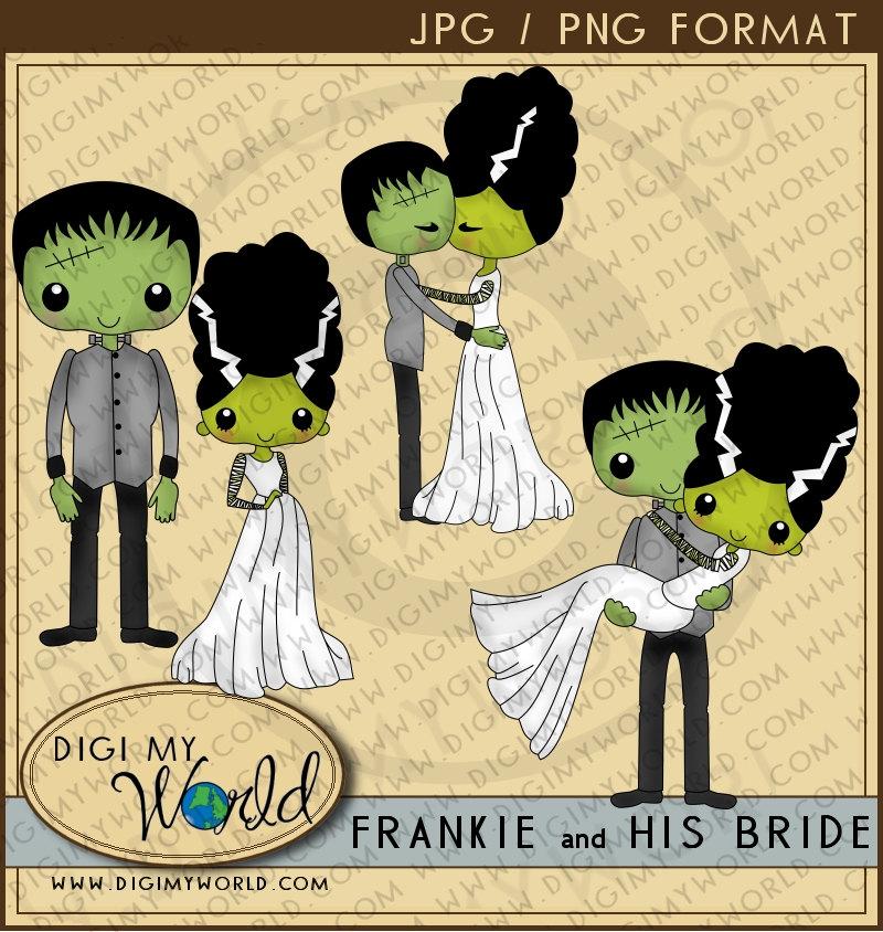 Bride Of Frankenstein  clipart cute #8