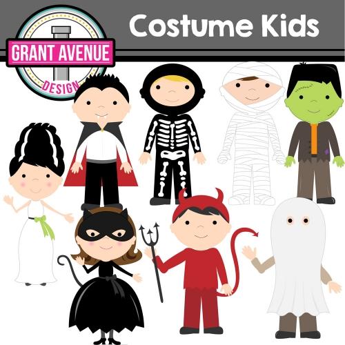 Costume clipart halloween child Grant Design Owls Clipart Avenue